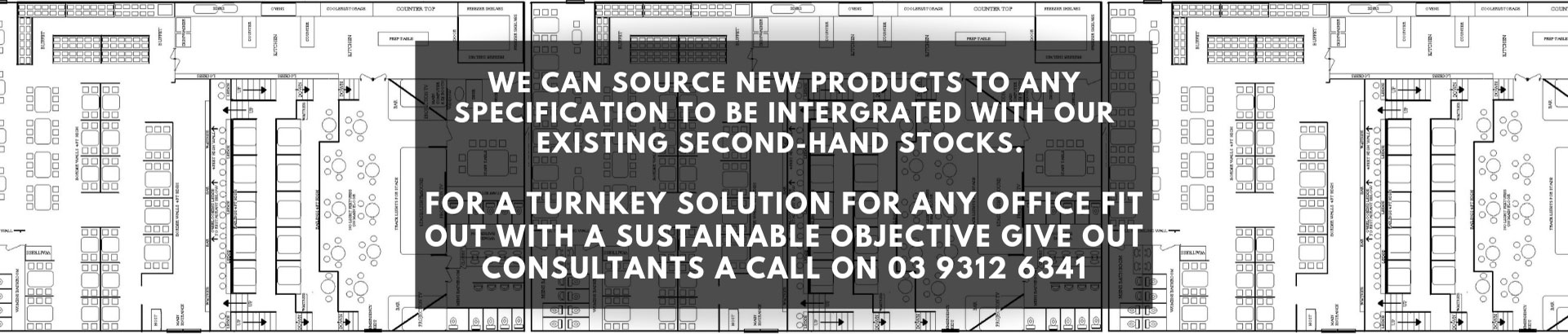 We can source new products to any specification to be integrated with our existing second-hand stocks