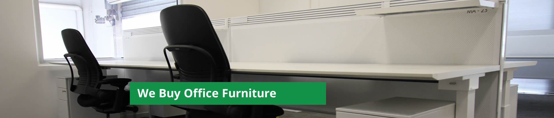 We Buy Office Furniture - click here