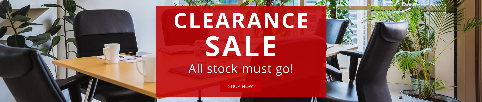 Clearance Sale, all stock must go - shop now