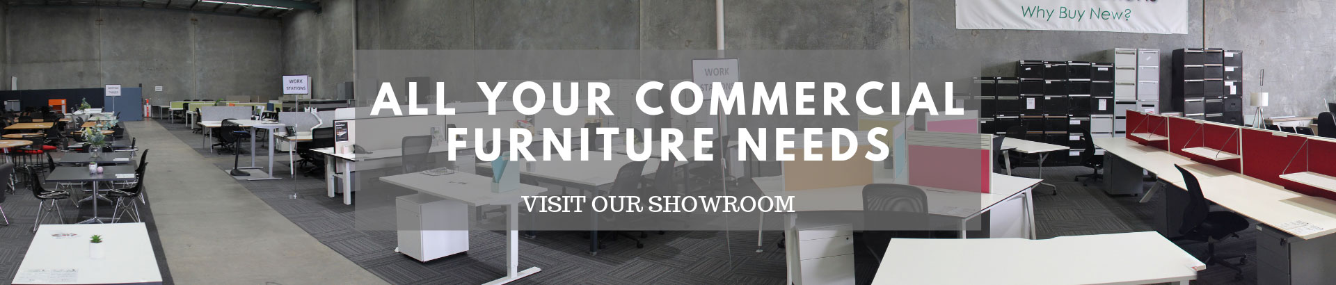 For all your commercial furniture needs visit our showroom