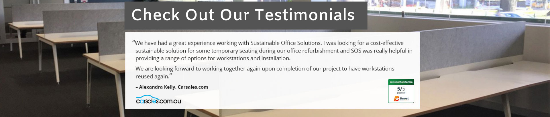 Check out our testimonials.