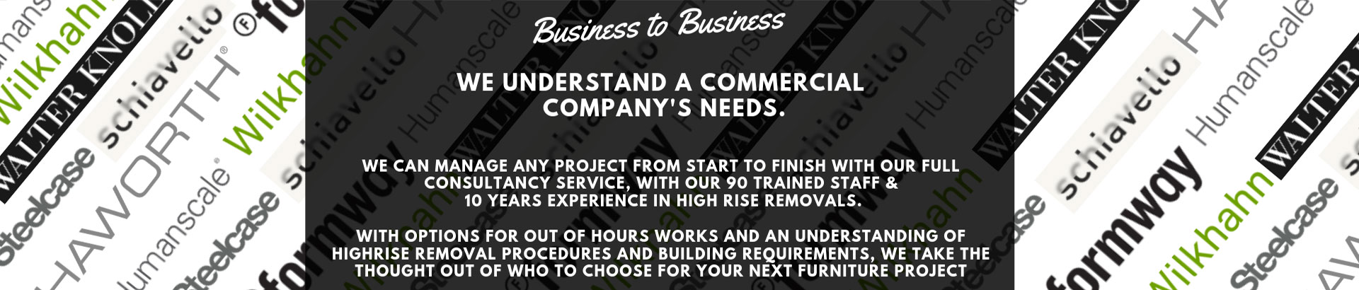 Business to business sales. Working with your business day or night